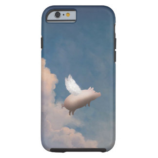 flying pig Custom iPhone 6 case Tough iPhone 6 Case