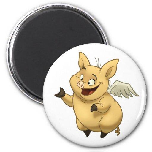 Flying Pig Magnet