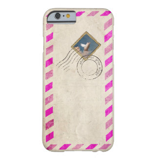 flying pig stamp iPhone 6 case Barely There iPhone 6 Case