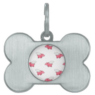 Flying Pigs Pet Tags
