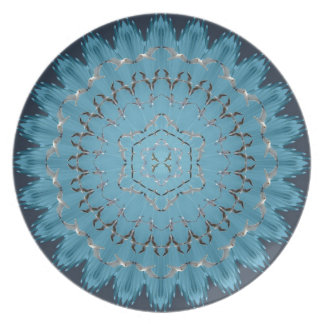 Flying Seagull Mandala Plate