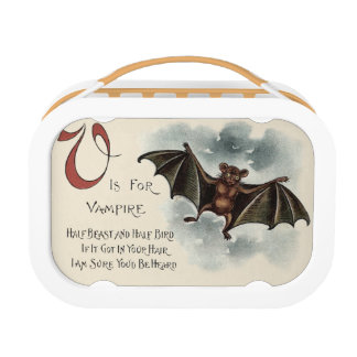 Flying Silly Goofy Vampire Bat Lunch Box
