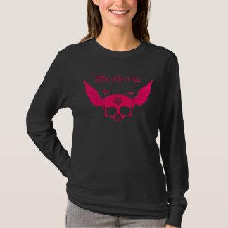 Flying SwineSkull Women's Longsleeve T-Shirt
