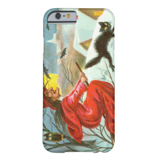 Flying Witch Black Cat Owl Bat Snow Barely There iPhone 6 Case