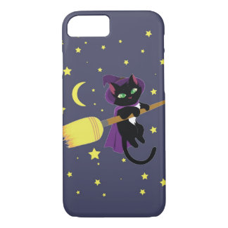 Flying Witch Cat iPhone 7 Case