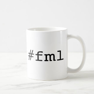 FML (hashtag) Coffee Mug