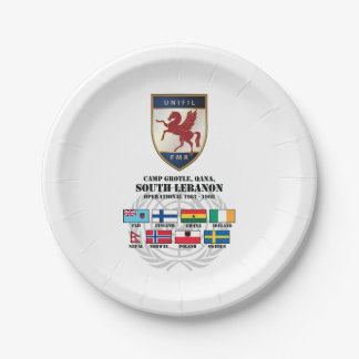 """FMR Party Paper Plates 7"""" 7 Inch Paper Plate"""