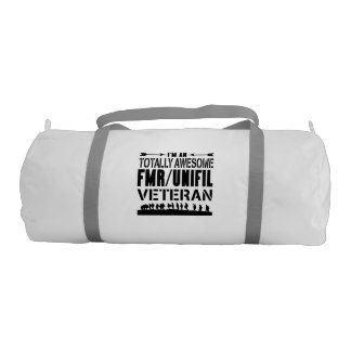 FMR Totally Awesome Gym Bag Gym Duffel Bag