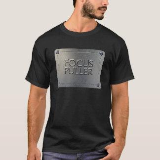 FOCUS PULLER T-Shirt - metal plate design