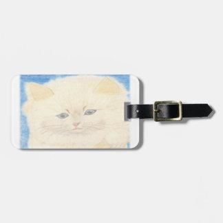 Fofinho cat luggage tag