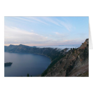 Fog at Crater Lake Card