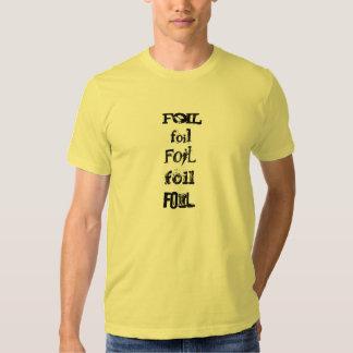 foil X 5 Tee Shirt