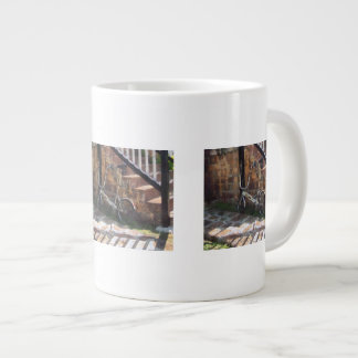Folding Bicycle Antigua Large Coffee Mug