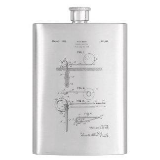FOLDING GOLF TEE BAG -  Drinks Flask