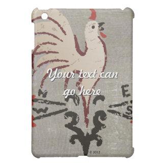 Folk Art Style Rooster iPad Mini Cases