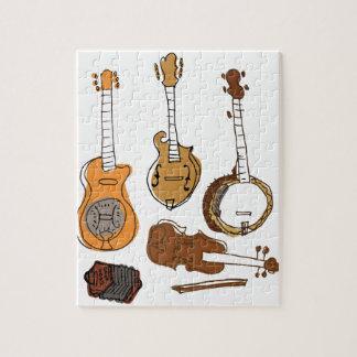 Folk Instruments Jigsaw Puzzle
