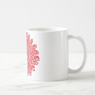 Folk Theme Coffee Mug