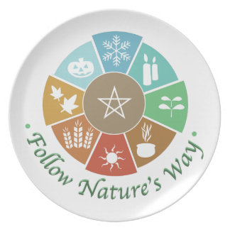 Follow Nature's Way Dinner Plate
