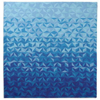 Follow the blue sea printed napkin