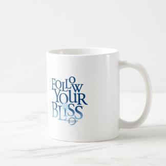 Follow Your Bliss White Mug