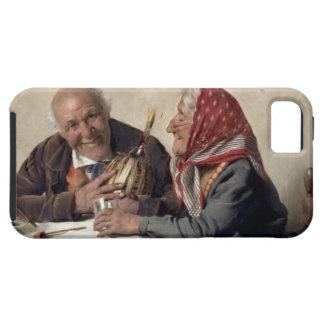 Fond Memories (oil on canvas) iPhone 5 Case