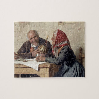 Fond Memories (oil on canvas) Jigsaw Puzzle