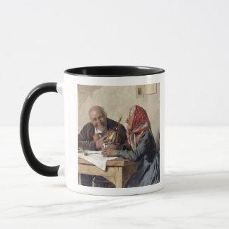 Fond Memories (oil on canvas) Mug