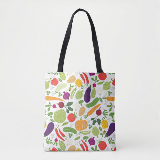Food on a white background tote bag