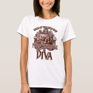 Food Storage Diva:  Pride of the Jello Belt T-Shirt
