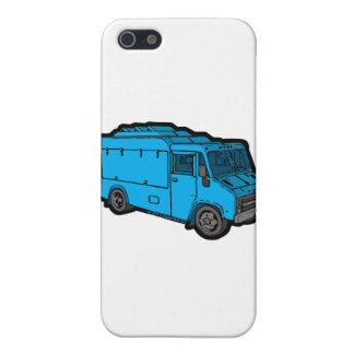Food Truck: Basic (Blue) iPhone 5/5S Covers