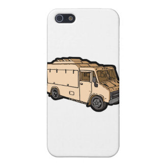 Food Truck: Basic (Cream) iPhone 5/5S Covers