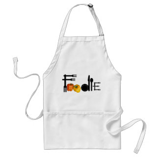 Foodie For Light Background Standard Apron