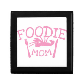 Foodie MOM with lobster on a plate Gift Box