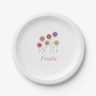 Foodie Paper plate 7 Inch Paper Plate