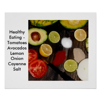 Foods Poster Healthy Eating