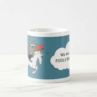 Fools in LOVE! Valentine's Day Coffee Mug