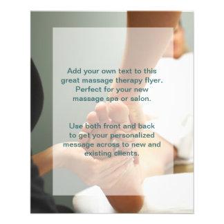 Foot Massage Photo Flyer