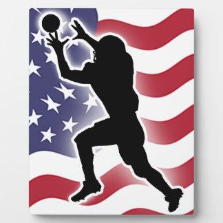 Football - Catch&Score Photo Plaques