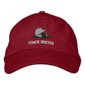 Football Coach Personalized Embroidered Hat