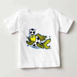 Football Fish Soccer Baby T-Shirt