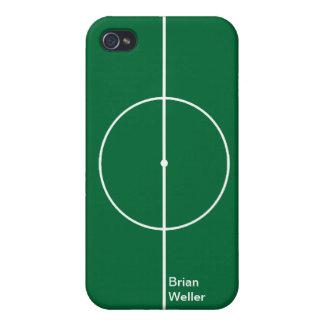 Football green sport stadium iPhone 4 cases
