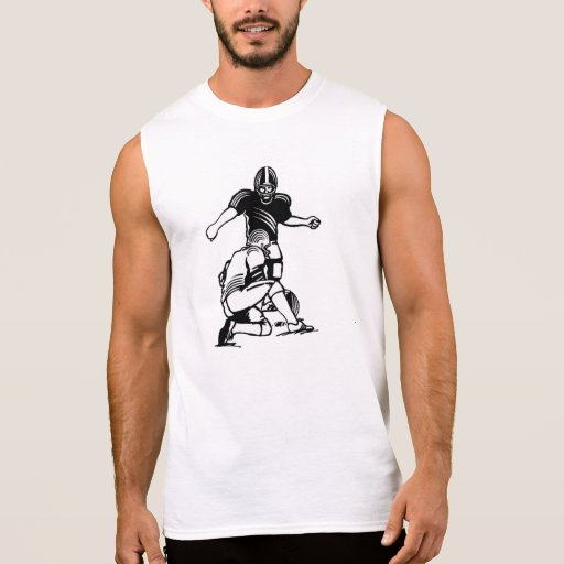 Football Kicker Sleeveless Shirt