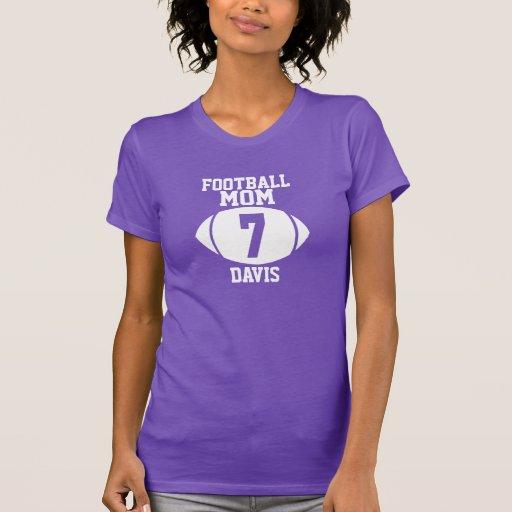 Football Mom 7 Tshirt