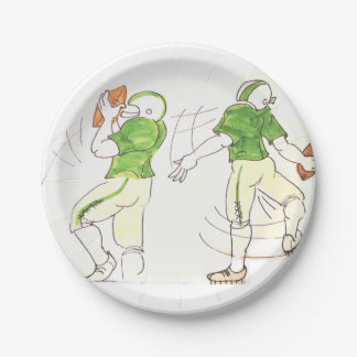 Football Paperplates Paper Plate