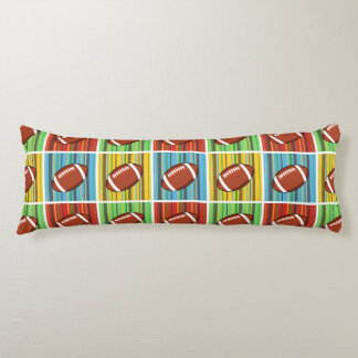 Football Pattern Body Cushion
