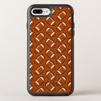 Football Pattern iPhone 8/7 Plus Otterbox Case