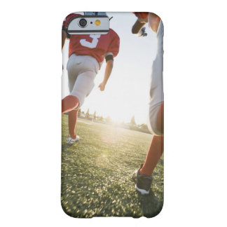 Football players running on field barely there iPhone 6 case