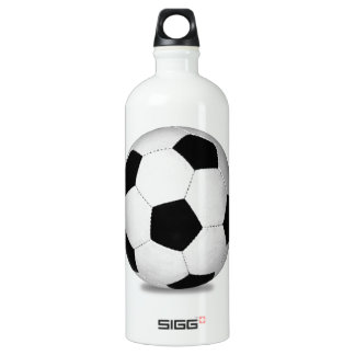 Football sports play games outdoor fun happy kids water bottle