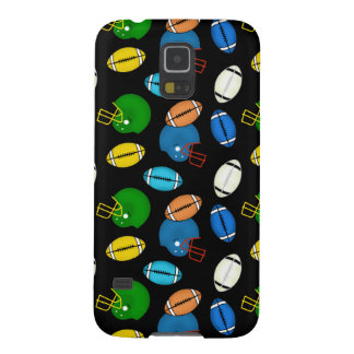 Footballs and Helmets sport theme patterns Galaxy S5 Covers