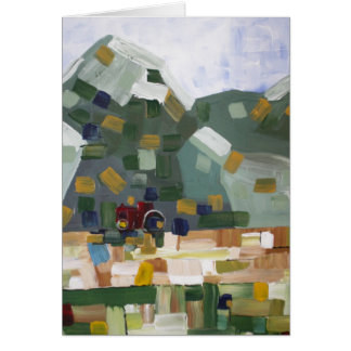 Foothill Field Greeting Card